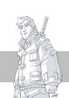 Sword Dude by DerekLaufman