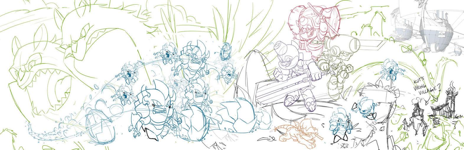 Little Big Heads promo sneak peek by DerekLaufman