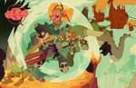 LittleBigHeads Kickstarter promo colors by Cheeks! by DerekLaufman