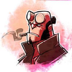 Hellboy Sketch