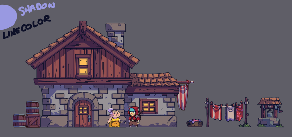 BULLET AGE: Village House by DerekLaufman