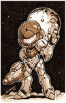Metroid: In the Dark Print for $10