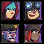 Character-portraits Bullet Age