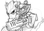 Rocket-and-Groot sketch