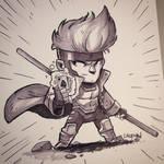 Commission - Gambit