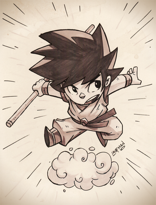 Goku Commission by DerekLaufman