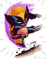 Chibi Wolverine by DerekLaufman