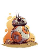 Chibi BB-8 by DerekLaufman