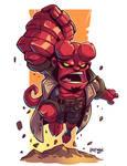 Chibi Hellboy