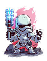 FN 2199 First Order Storm Trooper by DerekLaufman