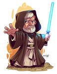 Chibi Obi Wan