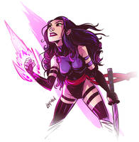 Psylocke by DerekLaufman