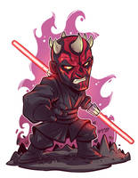 Chibi Darth Maul by DerekLaufman