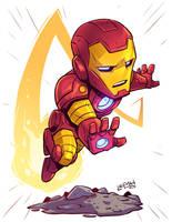 Chibi Ironman by DerekLaufman