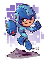 Mega man by DerekLaufman