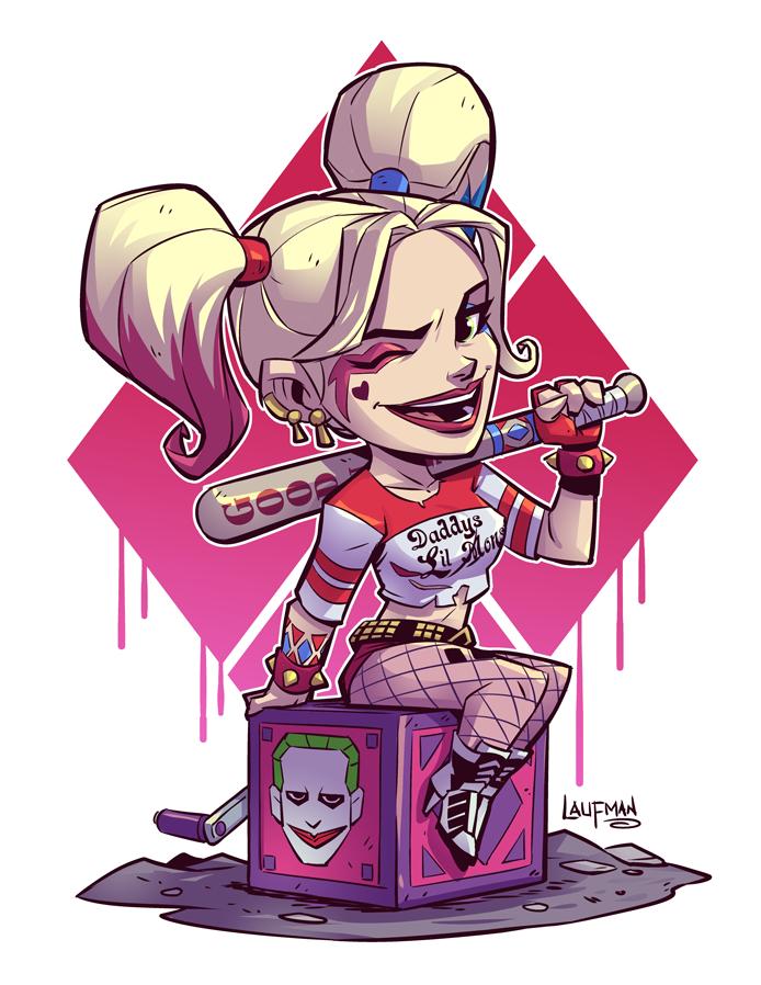 Harley Suicide Squad by DerekLaufman