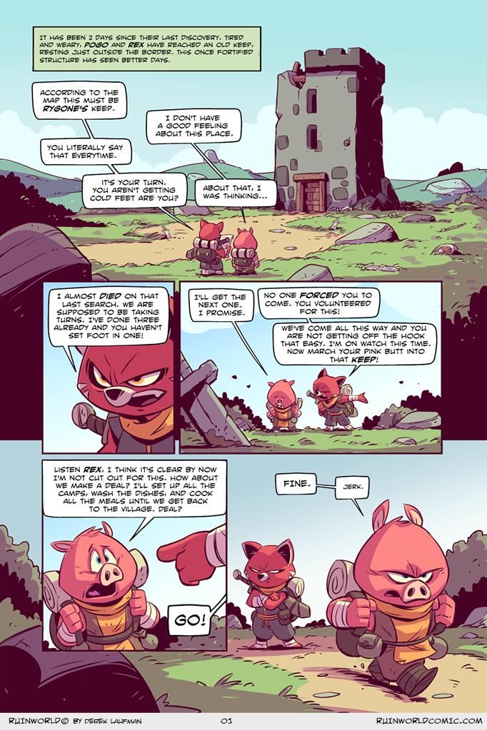 A new comic! by DerekLaufman