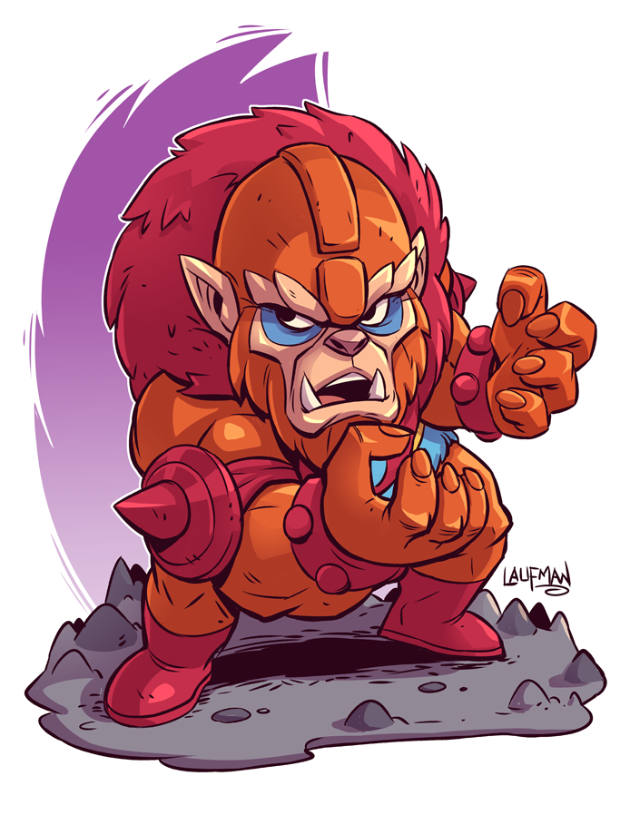 Chibi Beast Man by DerekLaufman