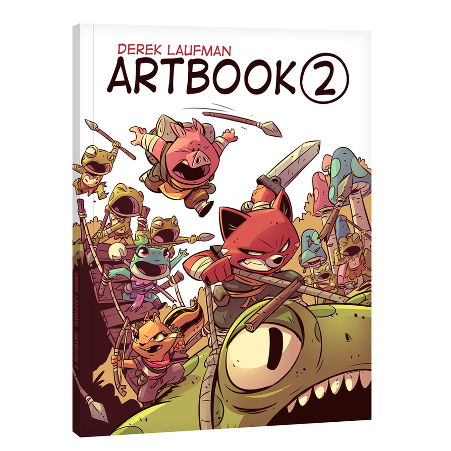 Artbook 2 by DerekLaufman