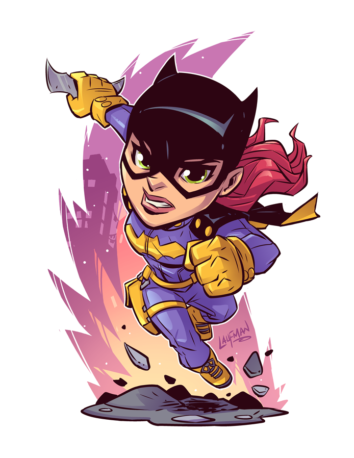 Chibi Batgirl by DerekLaufman