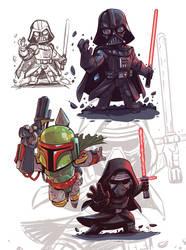 Star Wars Chibis