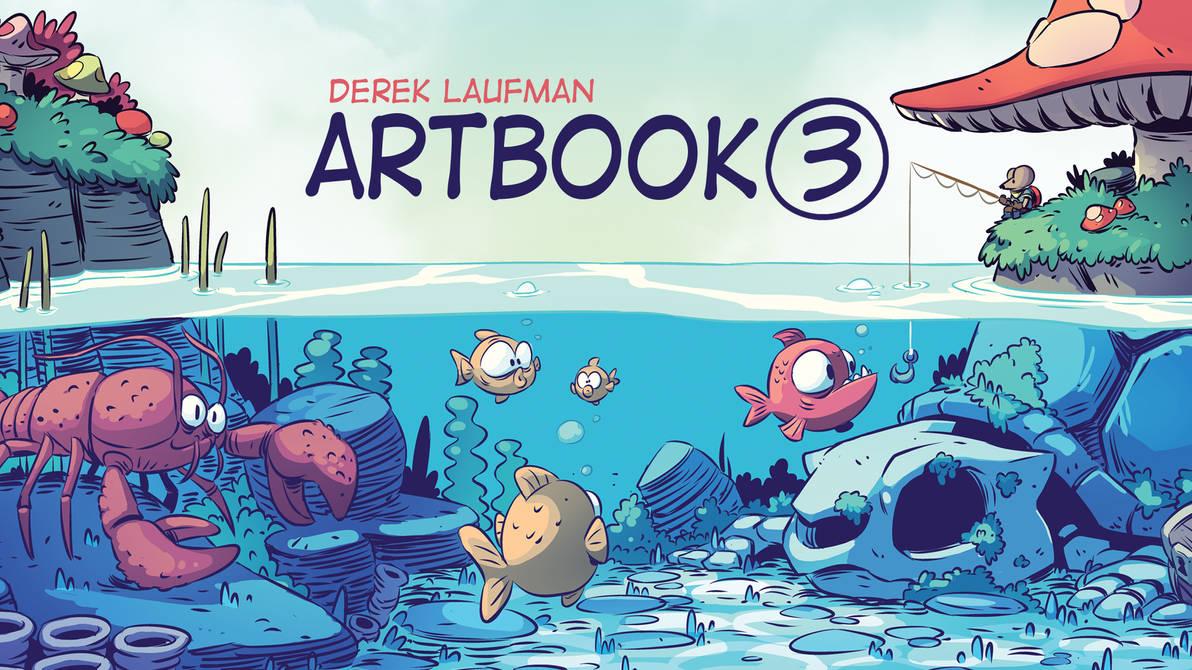 Artbook 3 by DerekLaufman