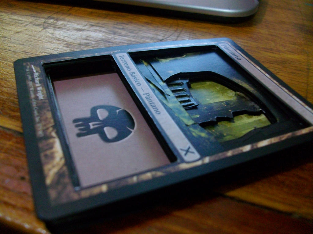 Magic the gathering 3d card by fabiojapaxd on deviantart - Magic the gathering game table ...