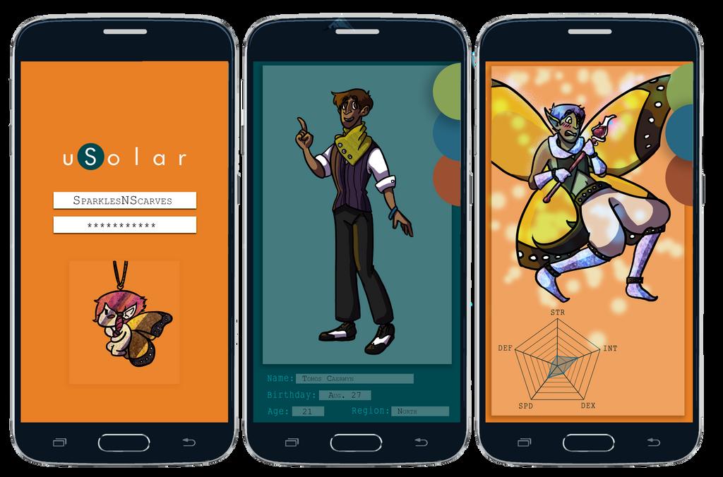Tomos uSolar App by Mystic-Snail