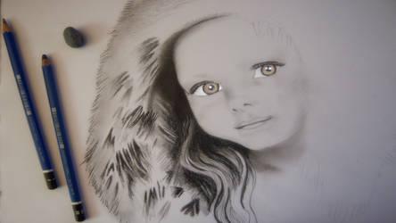portrait w.i.p. by Marcher