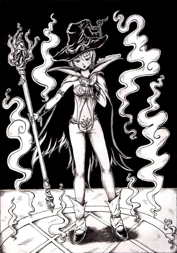 Witch - Summoning by ArichanKizuna
