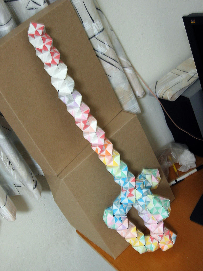 Origami Sword Picture 2 By Math4origami On Deviantart