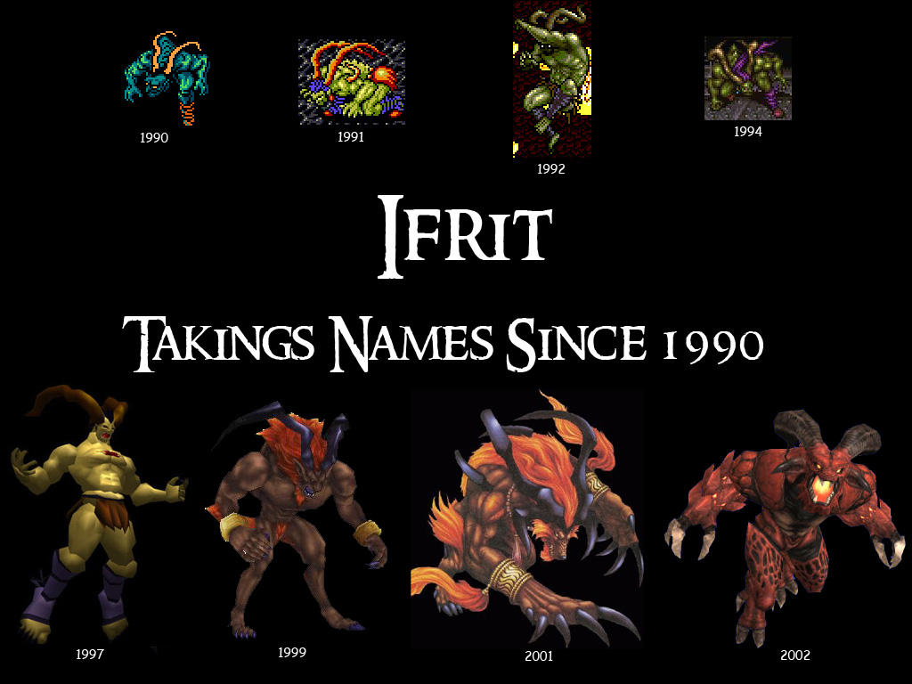 Final Fantasy Ifrit Wallpaper Ifrit - Wallpaper by J...