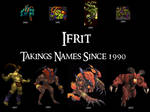 Ifrit - Wallpaper