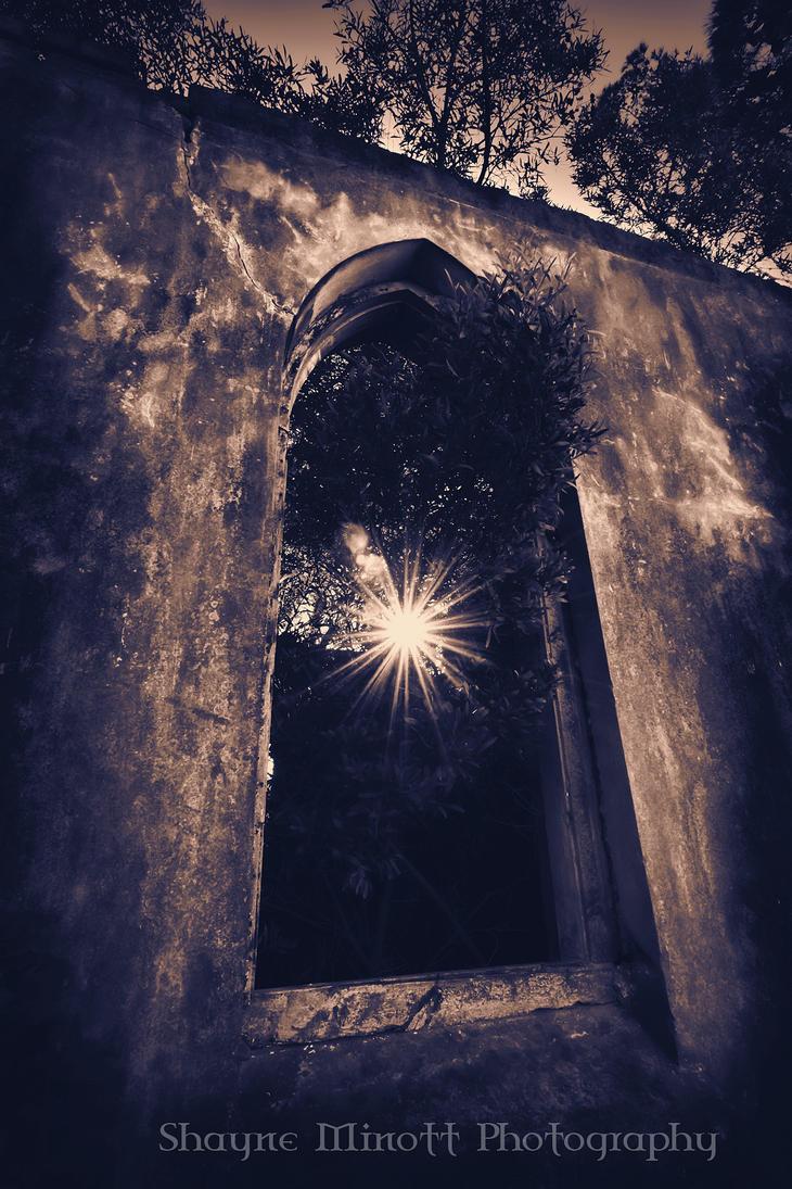 Church Ruin by Sminott