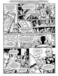 Judge Dredd 2000AD - Page 3 - Lettering Practice