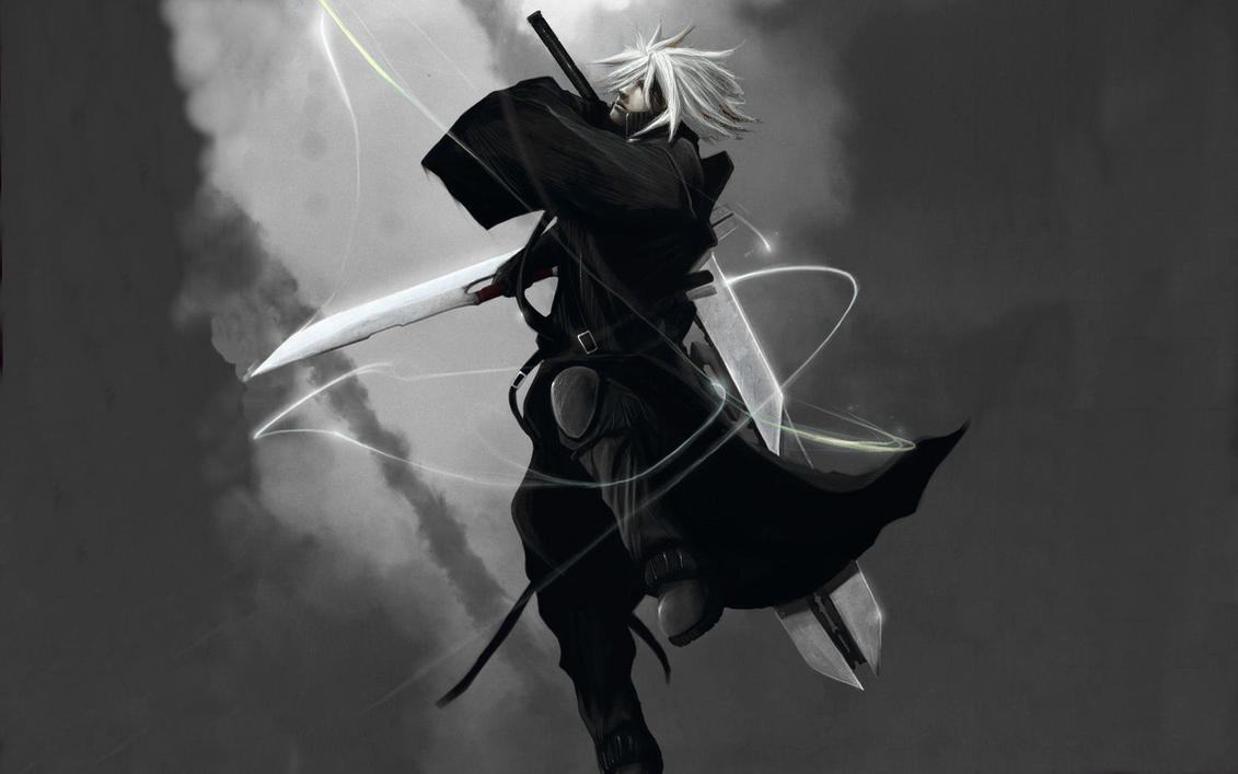 cloud strife wallpaper by samisgarbage on deviantart
