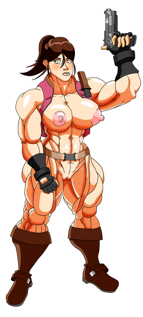 Muscled Claire by atractivemonkey007
