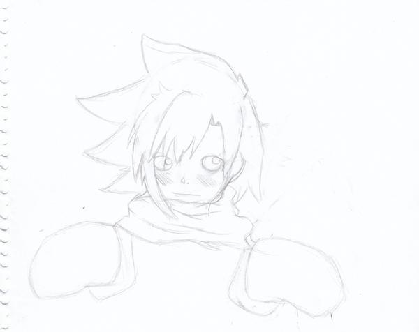 anime boy by enr22