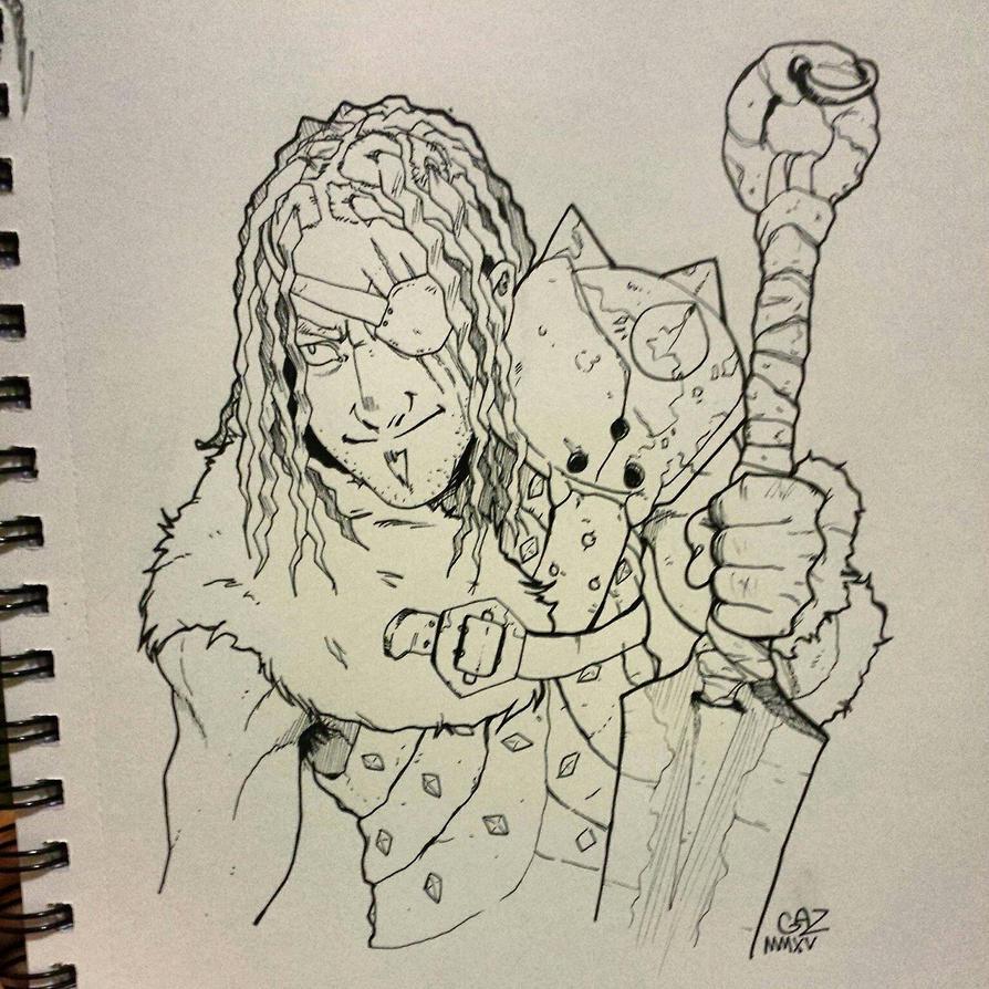 Barbarian by Gazzycakes