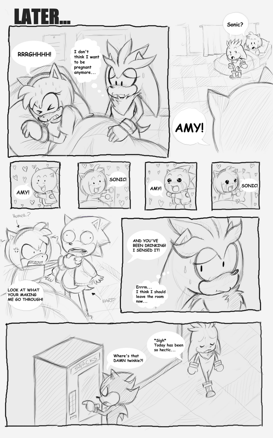 Sonic got Amy Pregnant Pg 35 by sonicxamy09