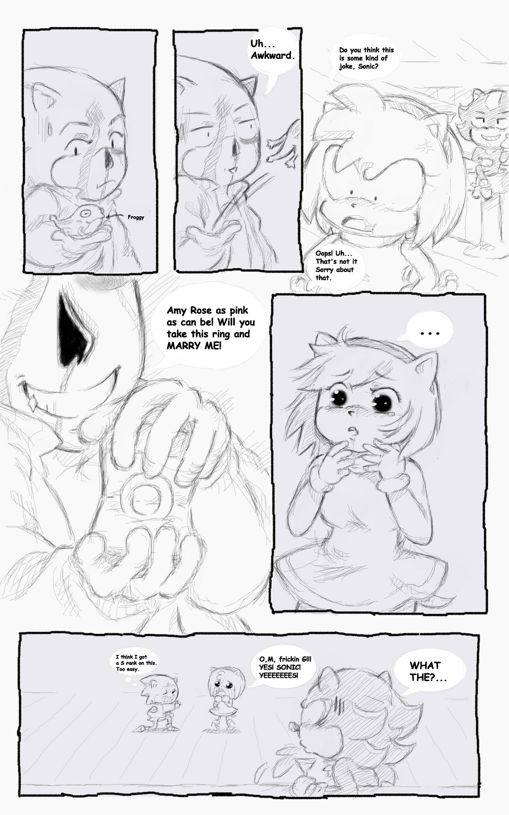 Sonic Got Amy Pregnant Pg 90 by sonicxamy09 on DeviantArt
