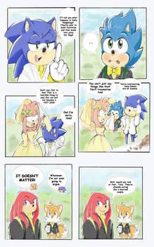 Sonic got Amy pregnant pg 104
