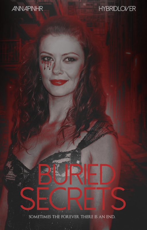 Cover : Buried secrets by Annapinhr