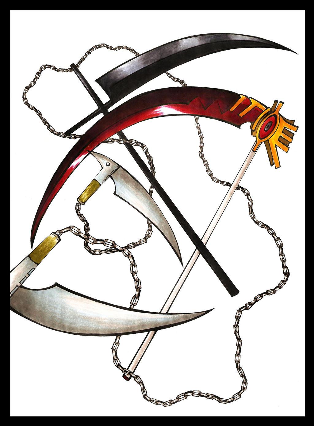 death weapon scythe - photo #18