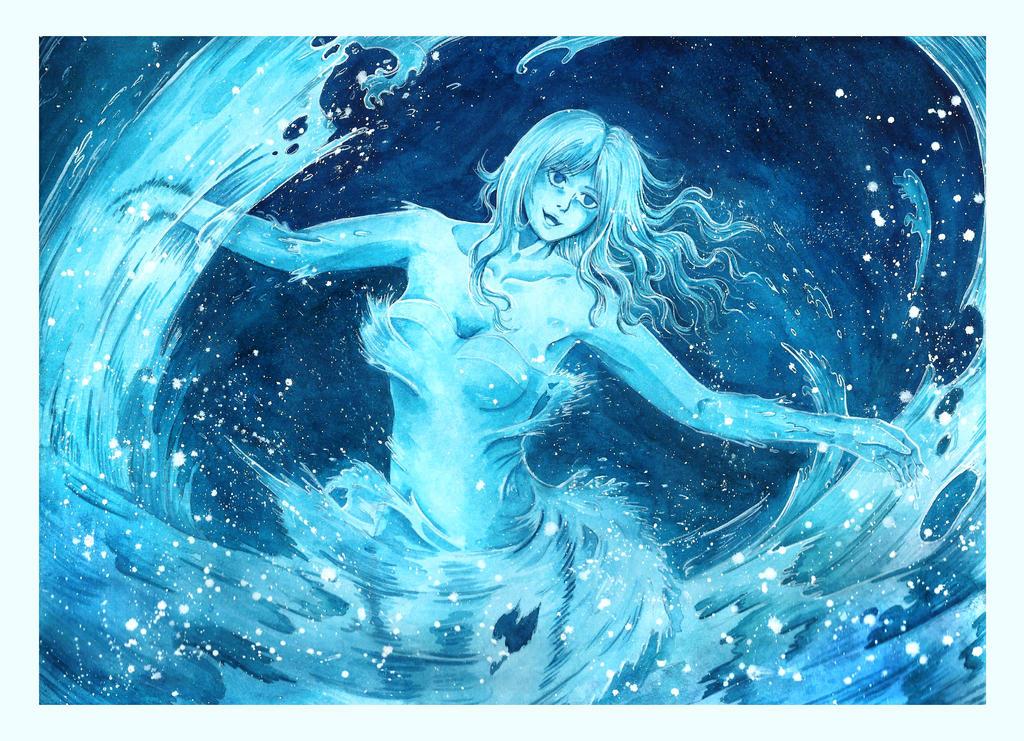 Juvia Of The Great Sea