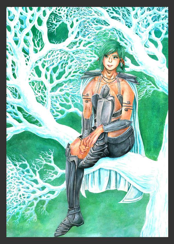 Elf Warrior by Marvolo-san