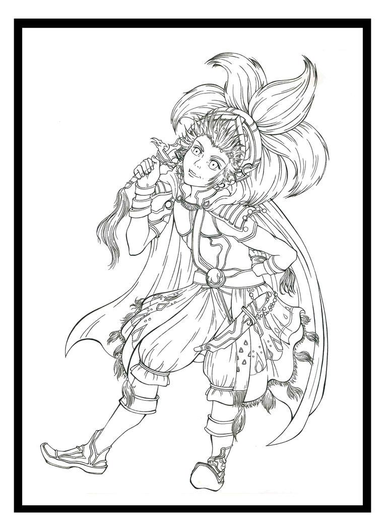 Final Fantasy III: Onion Knight LINES by Marvolo-san