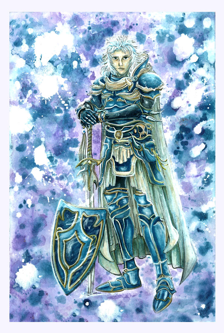 Final Fantasy I: Warrior of Light by Marvolo-san