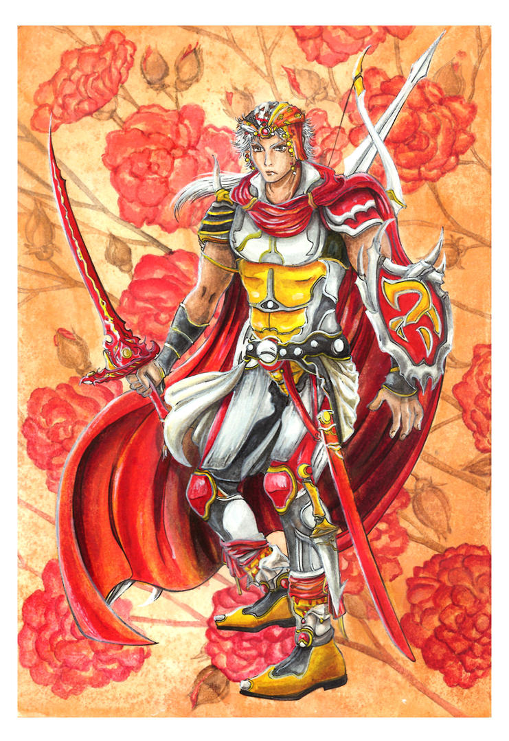Final Fantasy II: Firion by Marvolo-san