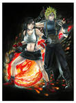 Final Fantasy VII: Tifa and Cloud